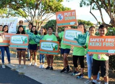 Drive Aloha Sign-Waving On Maui