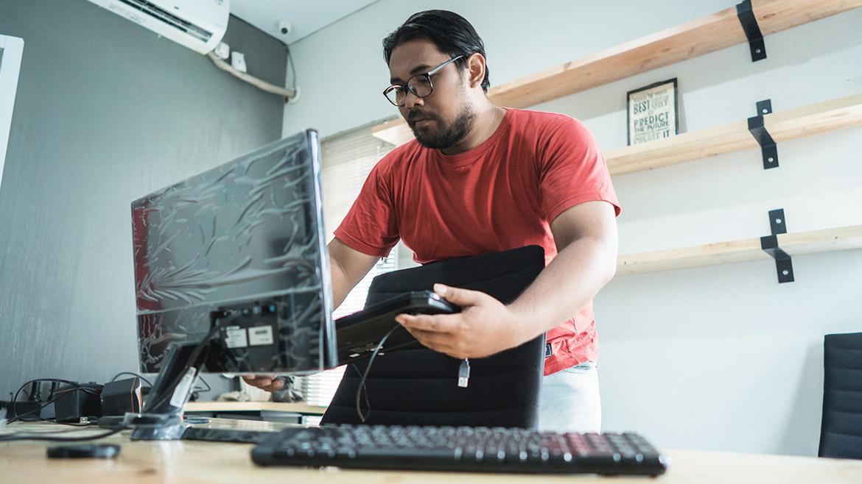 Computer Monitor Ergonomics