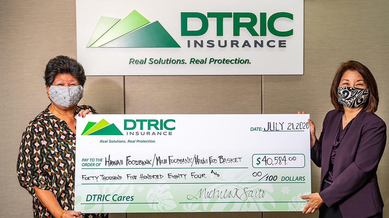 Company and agency partners donate $40,000 to Hawaii's foodbanks