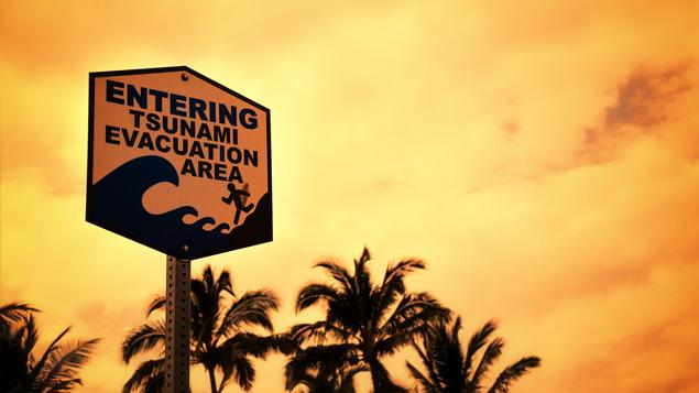 Be Prepared During a Tsunami Warning